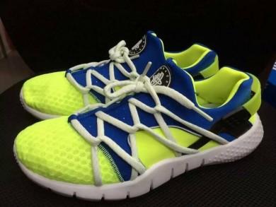 Nike Air Huarache Trainer Fluo / königsblau