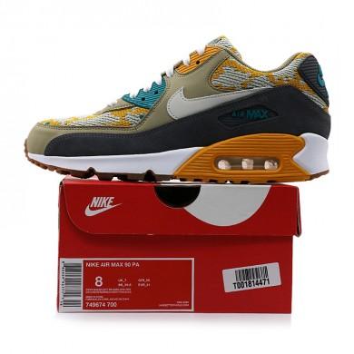 Nike Air Max 90 PA sneakers Auqamarin-blau-gelb