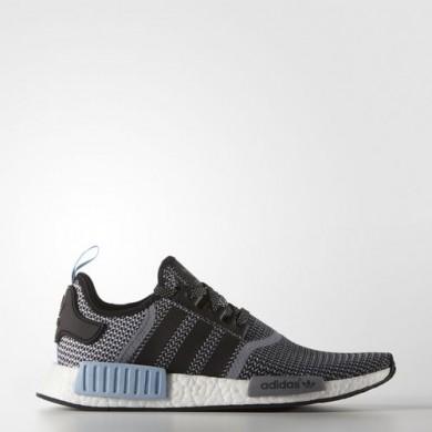 Adidas NMD_R1 Original-Trainer schuhe Farbe Kern schwarz / Kern Schwarz / Clear blau