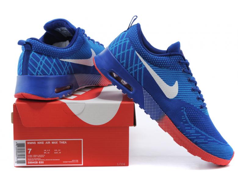 Nike Air Max Thea Trainer schuhe Königsblau Dodger blau